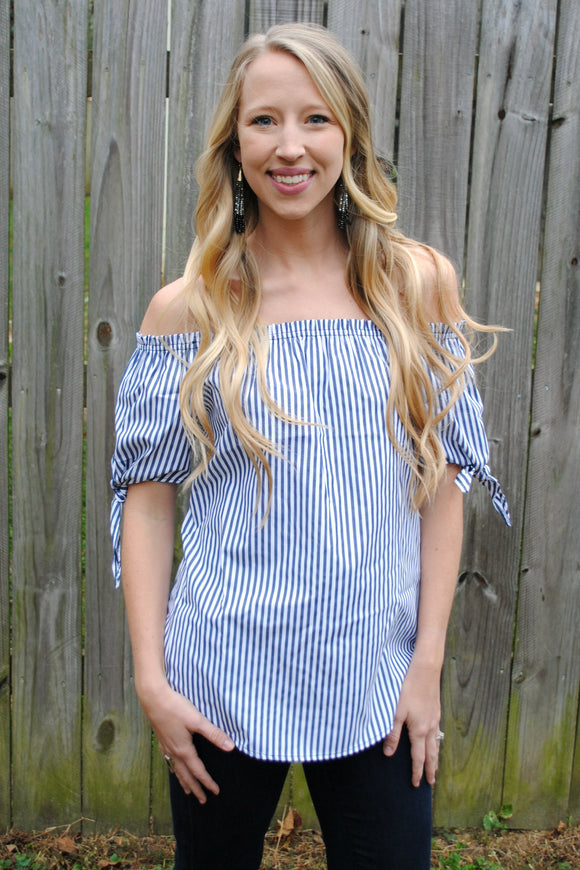Classically Chic Striped Top