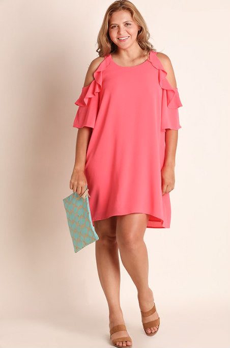 Serendipity Cold Shoulder Dress