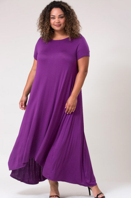 Falling For You Maxi (Purple | Magenta)