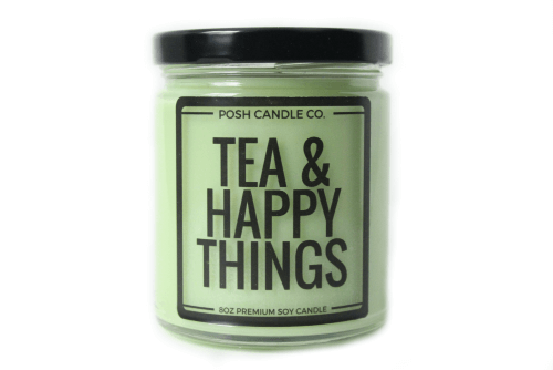 Tea and Happy Things Candle