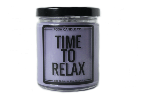 Time to Relax Candle