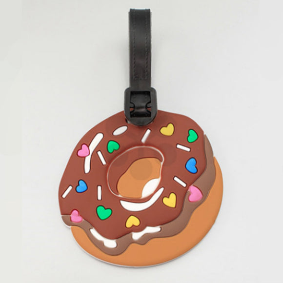 Donut Luggage Tag