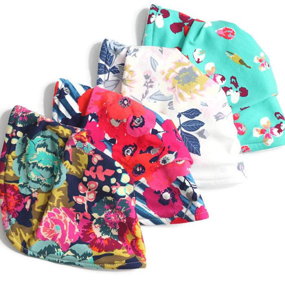 Bandana Baby Bib Bundle - Set of 4