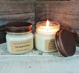 The Smell of Rain 8oz. Soy Wax Candle