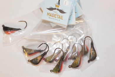 MagicTail Bucktails - Tog Jig - Color: Green Crab