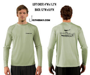 Performance Fishing Shirt (LS) - Boat Design