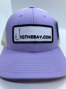 JigtheBay.com Patch Logo Trucker Hat