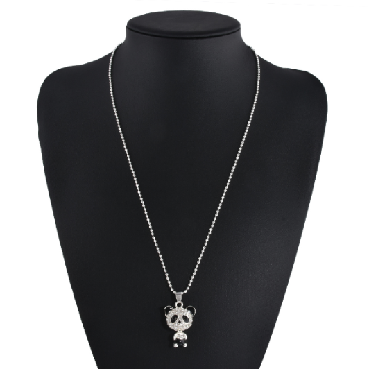 FREE Silver Plated Panda Necklace