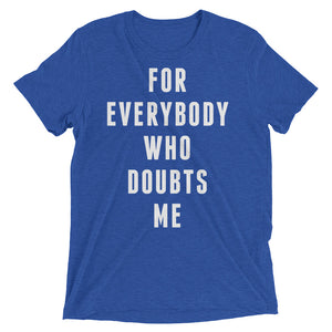 FOR EVERYBODY - White - Men's Short Sleeve T-Shirt