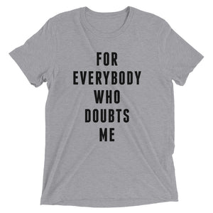 FOR EVERYBODY - Black - Men's Short Sleeve T-Shirt