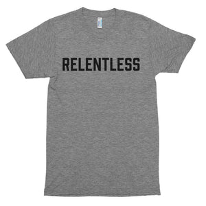 Relentless - Black - Short Sleeve t-shirt