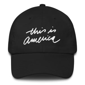 THIS IS AMERICA - White - Dad Hat