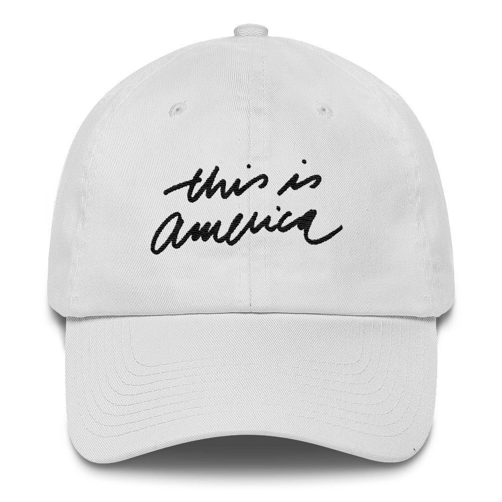 THIS IS AMERICA - Black - Dad Hat