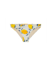 bikini-bottoms-bathing suit-swimwear-swimsuit-seamless-full coverage-low rise-yellow-white-lemon-print-printed