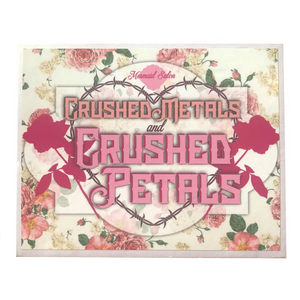 CRUSHED METALS & CRUSHED PETALS - Pigment Palette