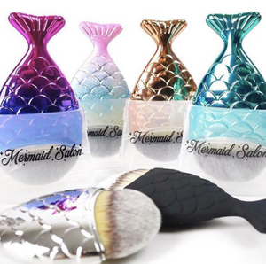 THE ORIGINAL CHUBBY MERMAID BRUSH - Matte Black