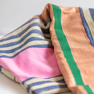 Multicolored African Blanket