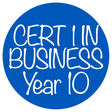 Cert 1 in business - Year 10