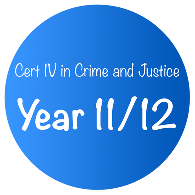 Cert IV in Crime and Justice - Year 11/12