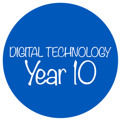 Digital Technology - Year 10