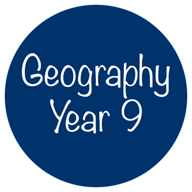Geography - Year 9