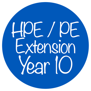 HPE / PE Extension - Year 10