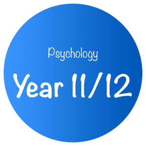 Psychology - Year 11/12