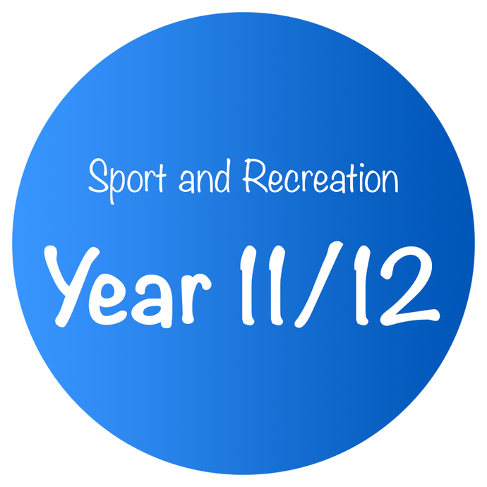 Sport and Recreation - Year 11/12