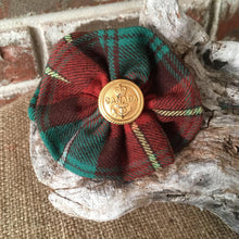 Canadian Tartans Rosette Brooch