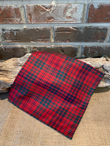 Tartan Clan & Specialty Pocket Square Wool