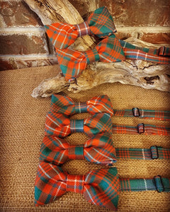 Gents Clan & Specialty Tartan Adjustable Bow Tie Wool