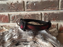 Maple Leaf Tartan Adjustable Dog Collar