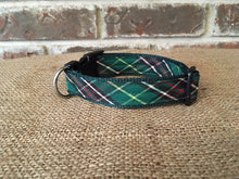 Newfoundland Tartan Adjustable Dog Collar