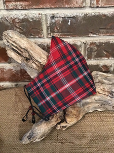Clan and Specialty Wool Tartan Social Distancing Fitted Mask