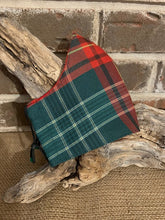 Canadian Tartan Social Distancing Fitted Mask