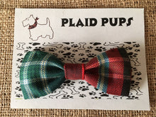 Tartan Dog Collar Bow Tie