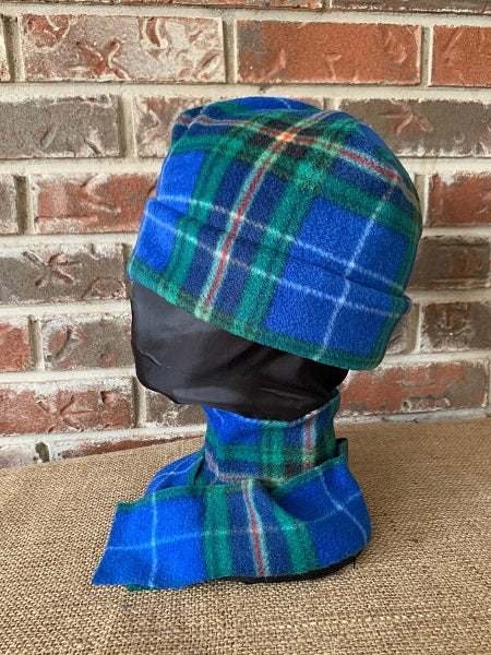 Nova Scotia Tartan Polar Fleece Toque