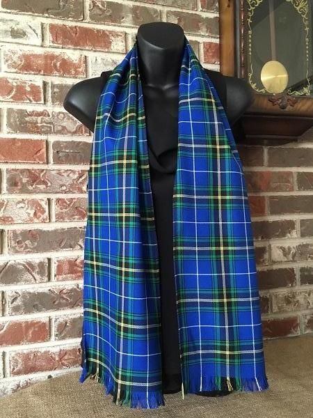 Canadian & Scottish Tartan Poly/Viscose 60