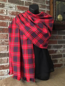 Tartan Clan & Specialty Stole Poly/Viscose