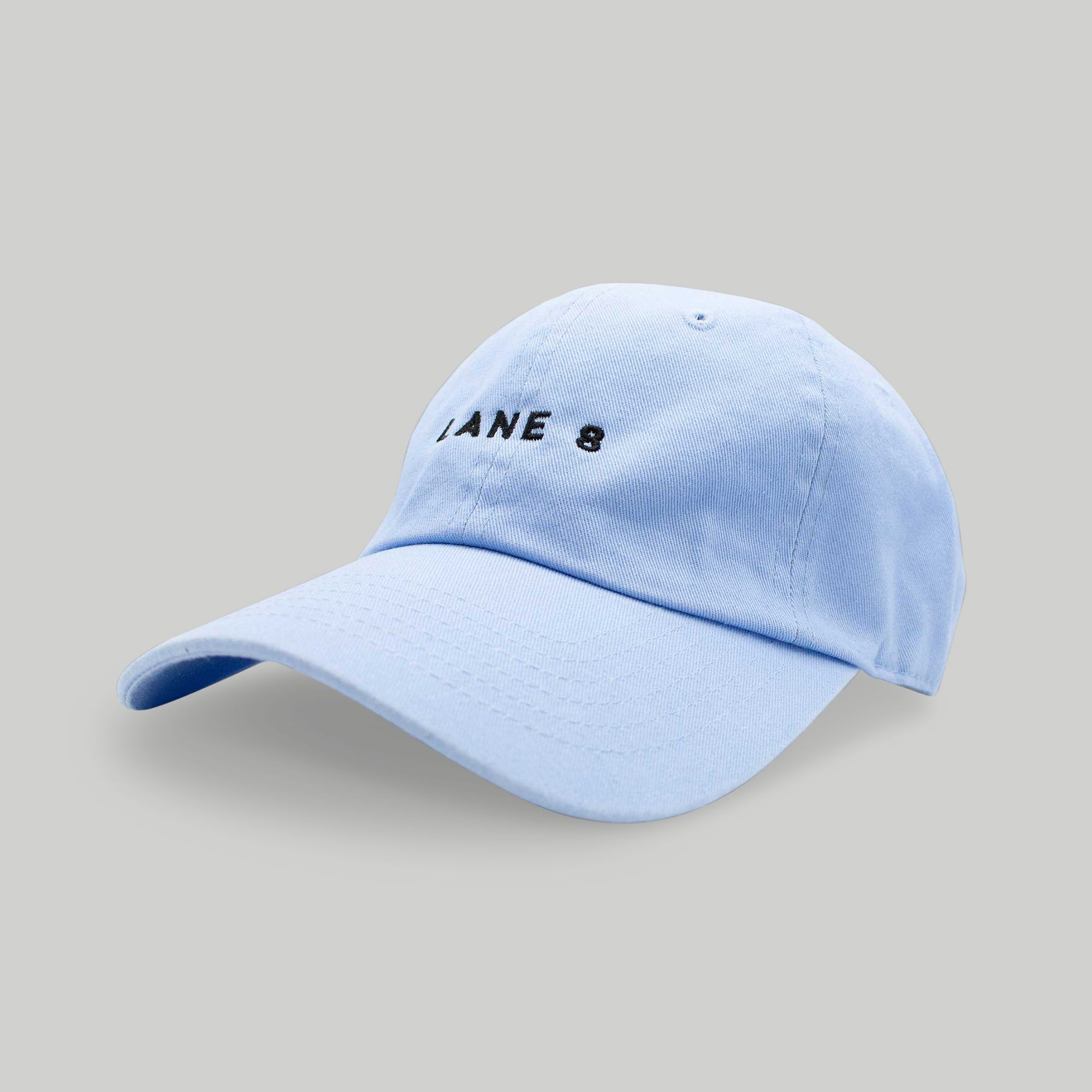 Lane 8 Dad Hat - Blue