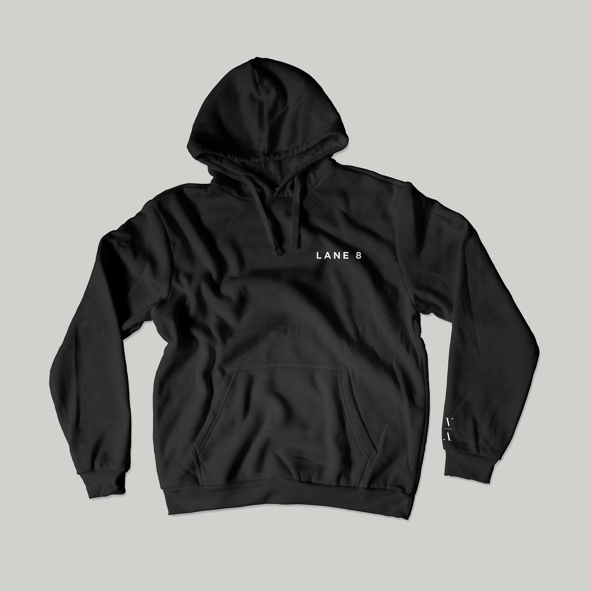 Lane 8 Embroidered Hoodie