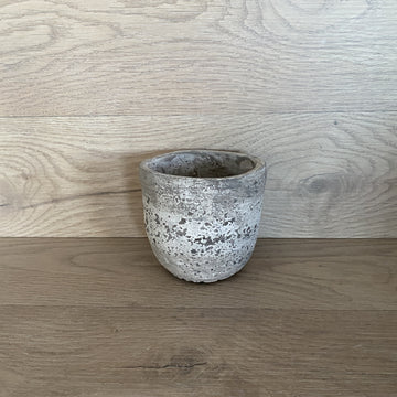 Cement Pot - Small