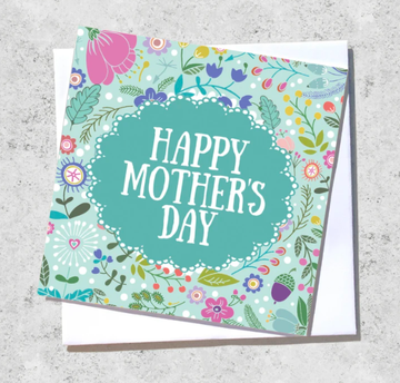Ink Bomb Card - Happy Mother's Day
