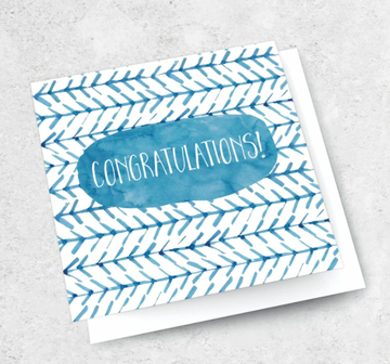 Ink Bomb Card - Congratulations | Shelf Home and Gifts