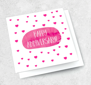 Ink Bomb Card - Happy Anniversary | Shelf Home and Gifts