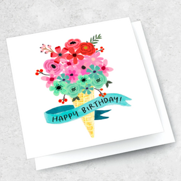 Ink Bomb Card - Happy Birthday | Shelf Home and Gifts