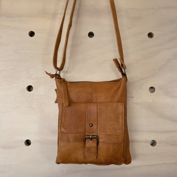 Leather Bag - Audrina Tan