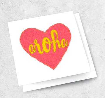 Ink Bomb Card - Aroha | Shelf Home and Gifts
