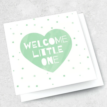 Ink Bomb Card - Welcome Little One | Shelf Home and Gifts