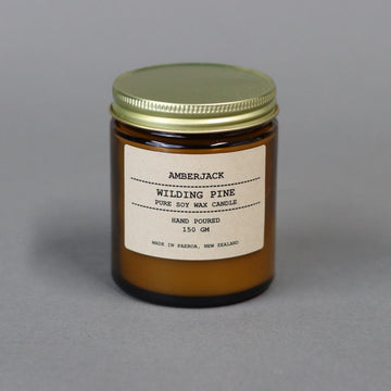 Amberjack candle - wilding pine